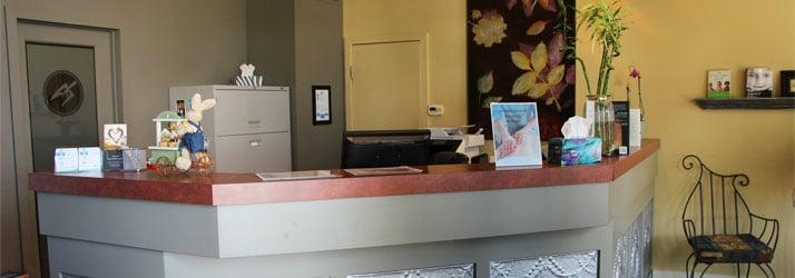Chiropractic Calgary NW Front Desk