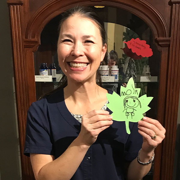 Chiropractor in Calgary AB Susanne Morris with Testimonial